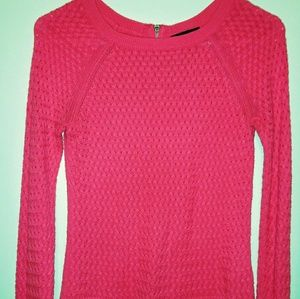 American Eagle Outfitters pink sweater small